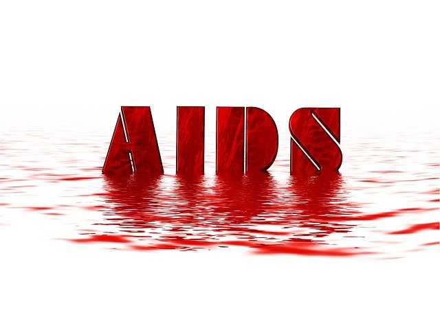 nápis aids