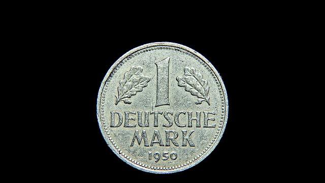 mince, německá marka